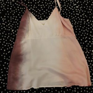 Tie dye purple white and pink cami